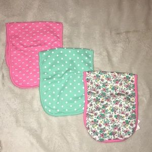 Other - Lot of 3 burp cloths